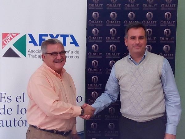 Convenio de Colaboración entre QUALIT y AEXTA
